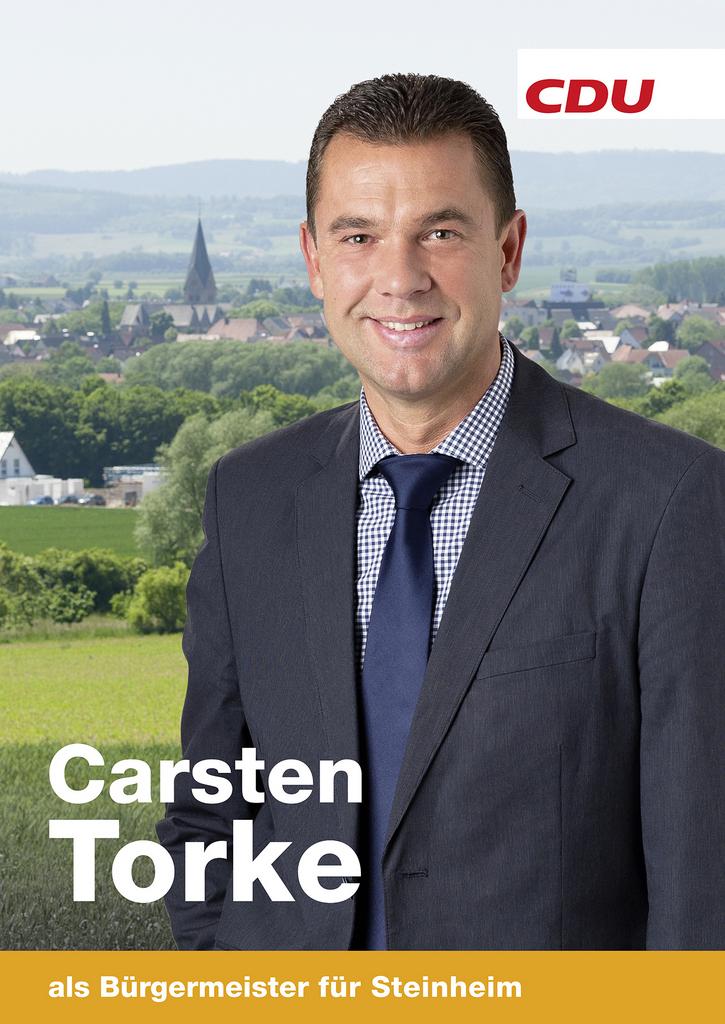 Als Bürgermeister für Steinheim